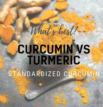 Curcumin VS Turmeric - Natural Medicine