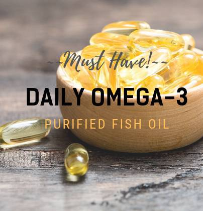 Daily Omega-3 - Best Supplement for pregnancy, cardiovascular functioning and memory